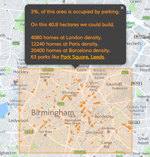 Open data in Birmingham