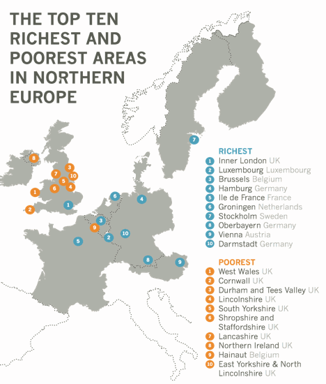 The Poorest Regions in Northern Europe on map of germany after ww2, liechtenstein germany, printable map of germany, map of germany 1948, map of germany before wwii, map of europe with distances, russia and germany, map of great britain and usa, map of germany before ww2, map of great britain and scotland, detailed map germany, trier germany, vilseck germany, map of great britain and ireland, map of great britain and norway, map of western europe and uk, map of divided germany, map of great britain and europe, map of britain and france, map of great britain and united states,